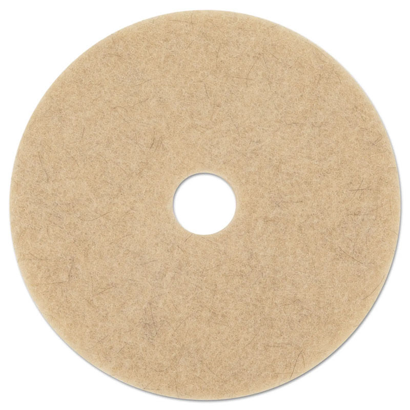 Premiere Pads Floor Machine Ultra High Speed Burnishing Pad - Natural Hair Extra - (5) 20
