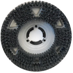 Malish UNI-BLOCK Showerfeed Scrubbing Brush w/ Universal Clutch Plate