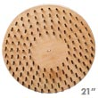 "Malish [773721S] Floor Machine Flat Butcher Wire Concrete Scarifying Brush - 21"" Dia."