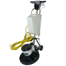 "Stinger 17 HD Low Speed Floor Buffer Machine w/ Shampoo Tank - 17"" Dia. 17LS3-BK-HDT"