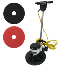 17 inch floor buffer machine
