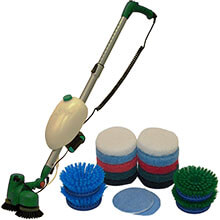 Bissell Battery Operated Scrubber & Polisher
