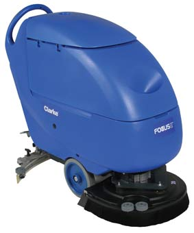Clarke 05332A Battery Powered Floor Scrubber - Focus II S20 Disc CLK-05332A