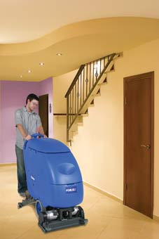Clarke 05332A Battery Powered Floor Scrubber - Focus II S20 Disc CLK-05332A - The scrub head in this image depicts cylindrical not disc.