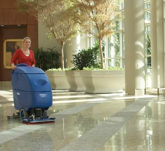 Clarke 05333A Battery Powered Floor Scrubber - Focus II S20 Disc CLK-05333A - The scrub head depicted in this image is BOOST not Disc.