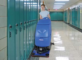 Clarke 05333A Battery Powered Floor Scrubber - Focus II S20 Disc CLK-05333A - The scrub head depicted in this picture is BOOST not Disc.