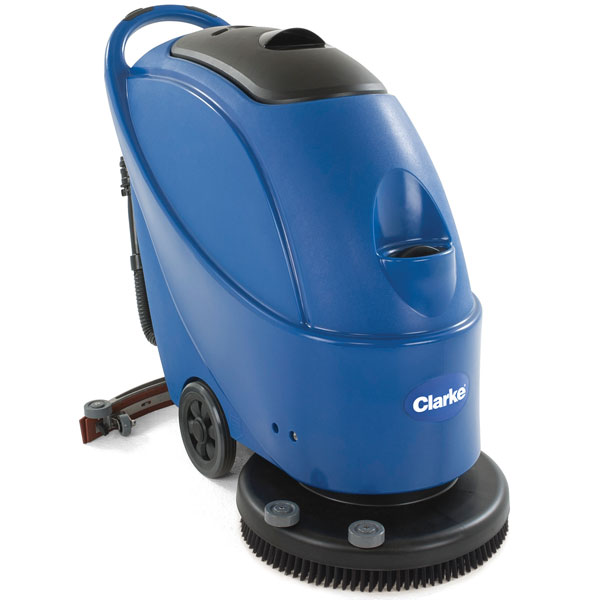Clarke CA30 20B Battery-Operated Walk-Behind Auto Scrubber