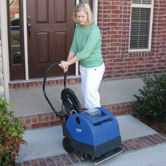 Clarke Vantage 13 Automatic Floor Scrubber - Easy to lift and maneuver.