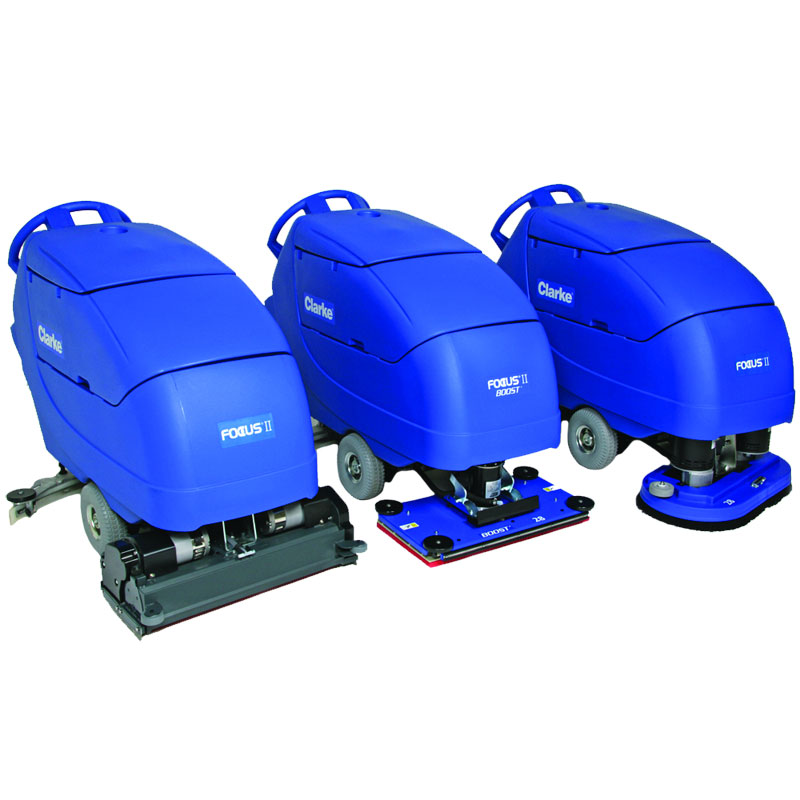 Clarke Automatic Floor Scrubber - Focus II 32 BOOST