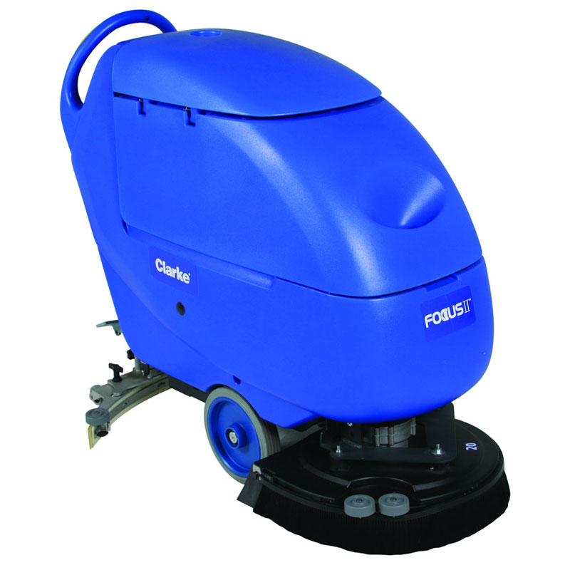 Clarke 05341A Battery Powered Automatic Floor Scrubber - Focus II S20 Disc