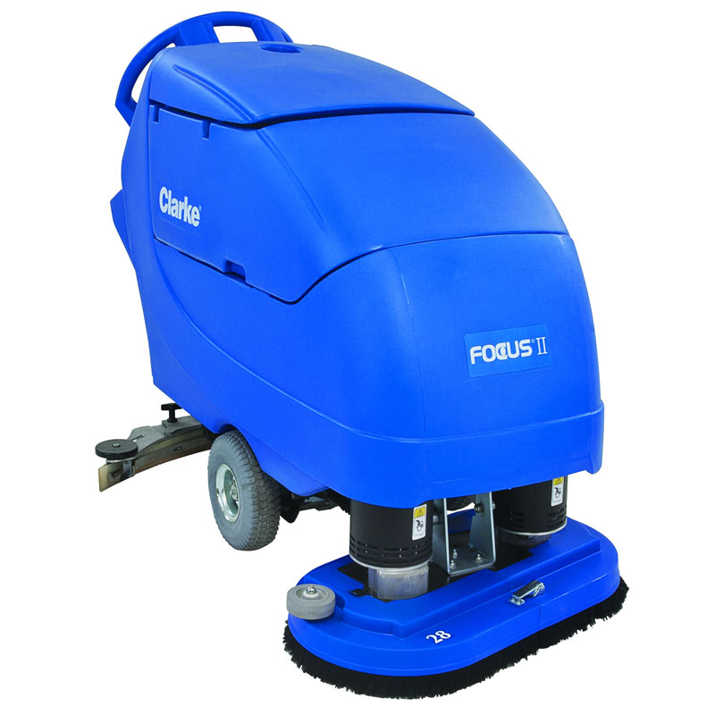 Clarke Battery Operated Automatic Floor Scrubber - Focus II 26 Disc