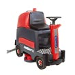 "Cleanfix® [253081] RA 800 Sauber Ride On Automatic Floor Scrubber - 34 Gallon - 30"" Cleaning Path"