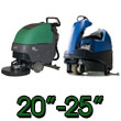 Large Battery Operated Floor Scrubbers