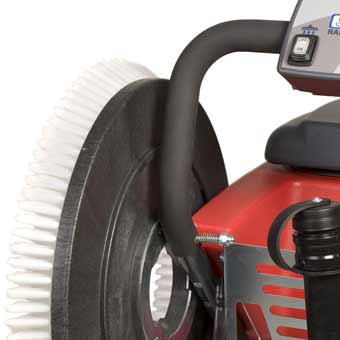 Side mount on the Mastercraft Cleanfix RA505 IBCT Battery Operated Floor Scrubber