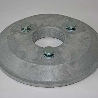 The top side of the Driving Disc for the Cleanfix RA 605 Battery Floor Scrubber.