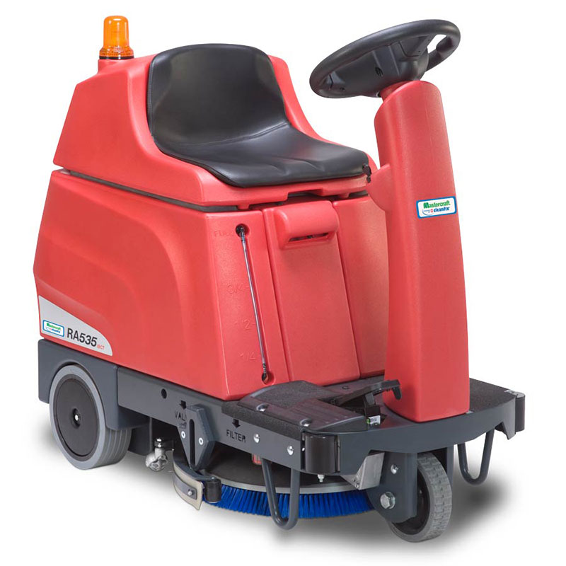 Cleanfix 280720 RA 535 IBCT Battery Floor Scrubber - 21