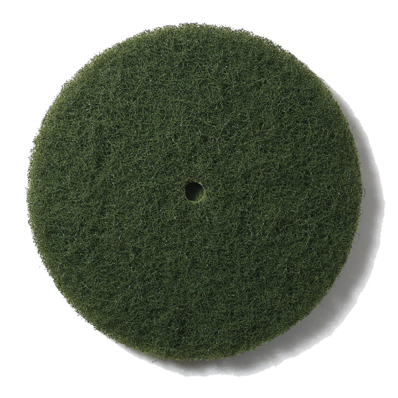 Motor Scrubber MS1062 Scrubbing Pad - Green - 10 pack