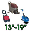 Small Battery Operated Floor Scrubbers