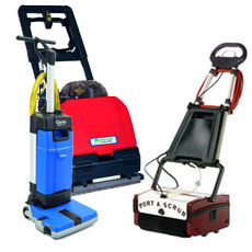 Small Area Floor & Tile Scrubbers