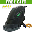 "Stinger Electric Automatic Floor Scrubber - Small Area - 18"" UNO-18FSE"