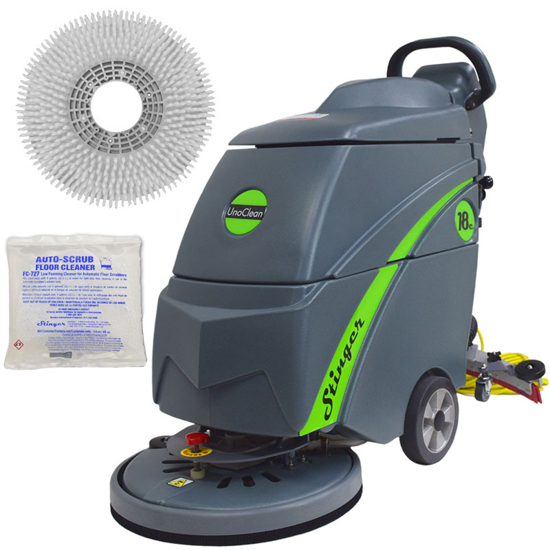 Gym Mat Electric Floor Scrubber 18 Quot Complete Kit