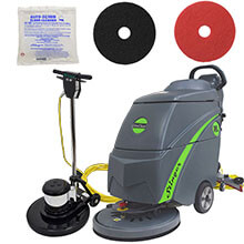 Stinger 18E Automatic Floor Scrubber - Gold Package