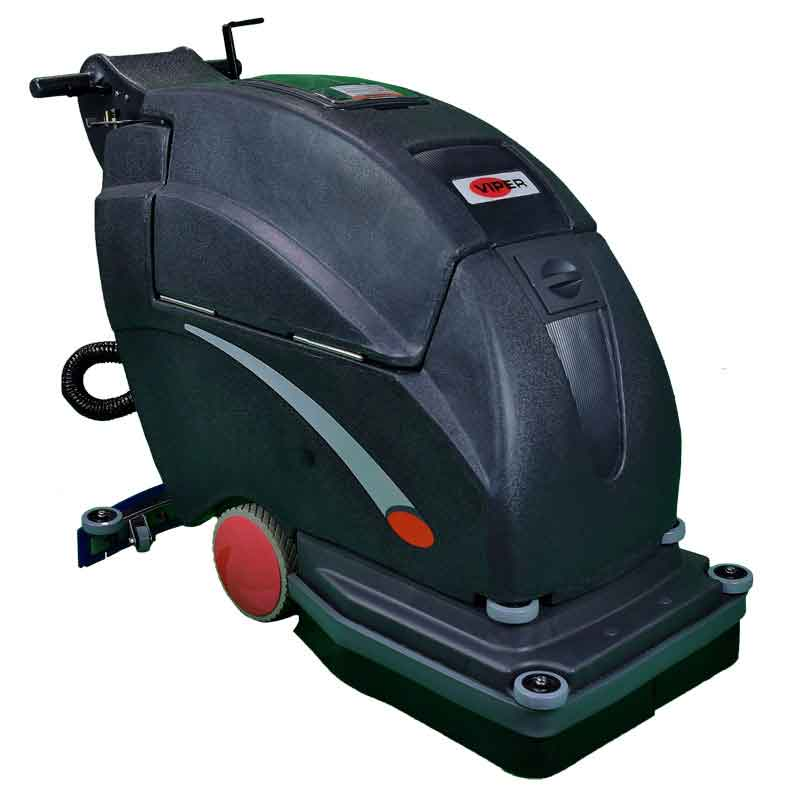 Viper Fang 20 Battery Operated Floor Scrubber - Walk Behind Automatic - 130 A/h Batteries - 20