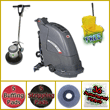 "Electric Automatic Floor Scrubber & Floor Machine ""Gold Package"" VP-FANG18C-GOLD"