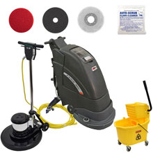 Fang 18C Automatic Floor Scrubber - Gold Package
