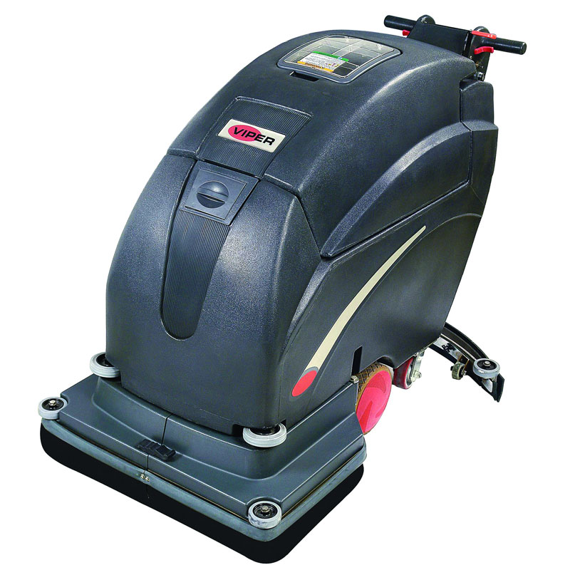 Viper Fang 28T-195 Battery Operated Floor Scrubber - Walk Behind Automatic - 28