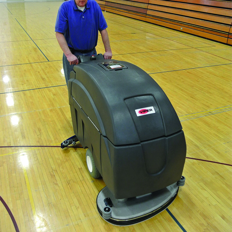 Viper Fang 32T Battery Operated Walk Behind Automatic Floor Scrubber