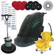 "Stinger Electric Floor Scrubber & Floor Machine ""Gold Package"" UNO-18FSE-GOLD"