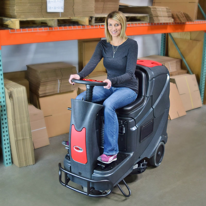 Viper AS710R Rider Automatic Floor Scrubber ...