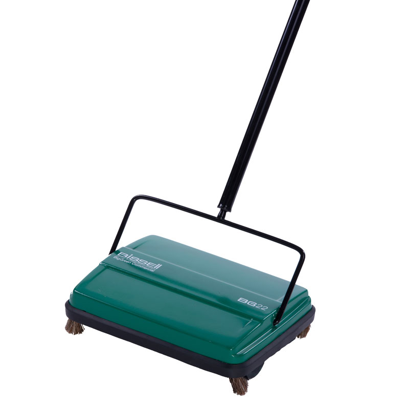 BG22 Foodservice Floor Sweeper - Single Rubber Brush