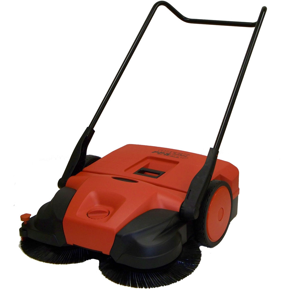 Haaga 477 Deluxe Triple Brush Push Power Sweeper