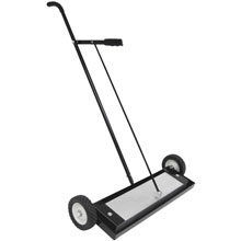 "Master Magnetics MFSM24RX Push-Type Magnetic Sweeper with Release - 24"" Width"