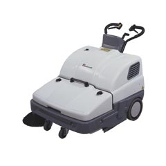 Mastercraft DM-900B DebrisMaster Battery Walk Behind Floor Sweeper - 36
