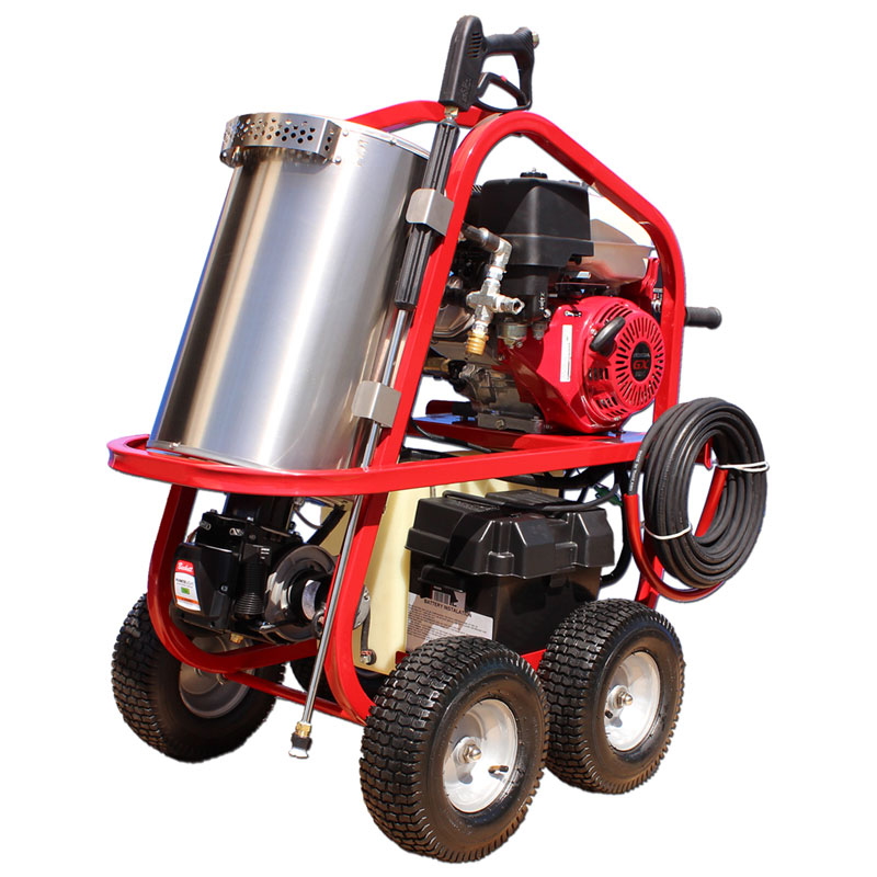 SH Series Hot Gas Power Washer - 2700 PSI / 2.5 GPM