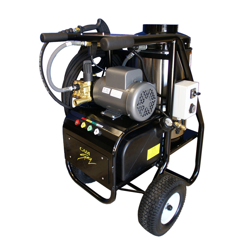 Pressure Washer Hot Water Gas Powered