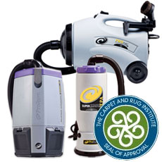 CRI Approved Vacuums