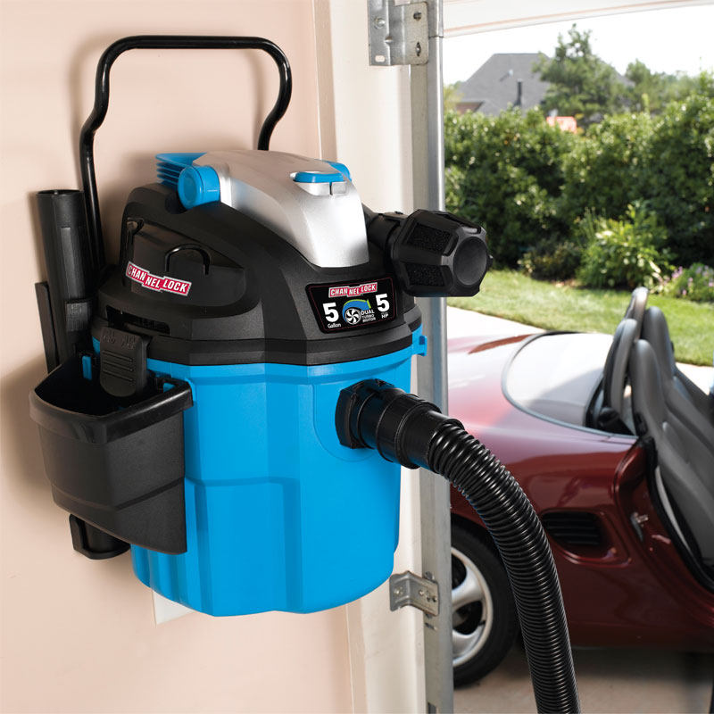 5 Gallon Wall Mount Wet Dry Vacuum Unoclean