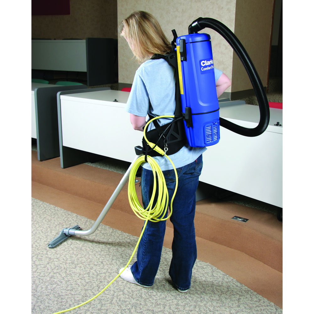 Clarke 6 Quart Back Pack Vacuum Cleaner with Tool Kit CLK-9060610010