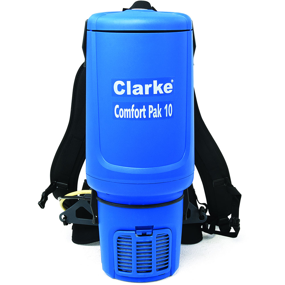 Clarke 10 Quart Back Pack Vacuum Cleaner with Tool Kit