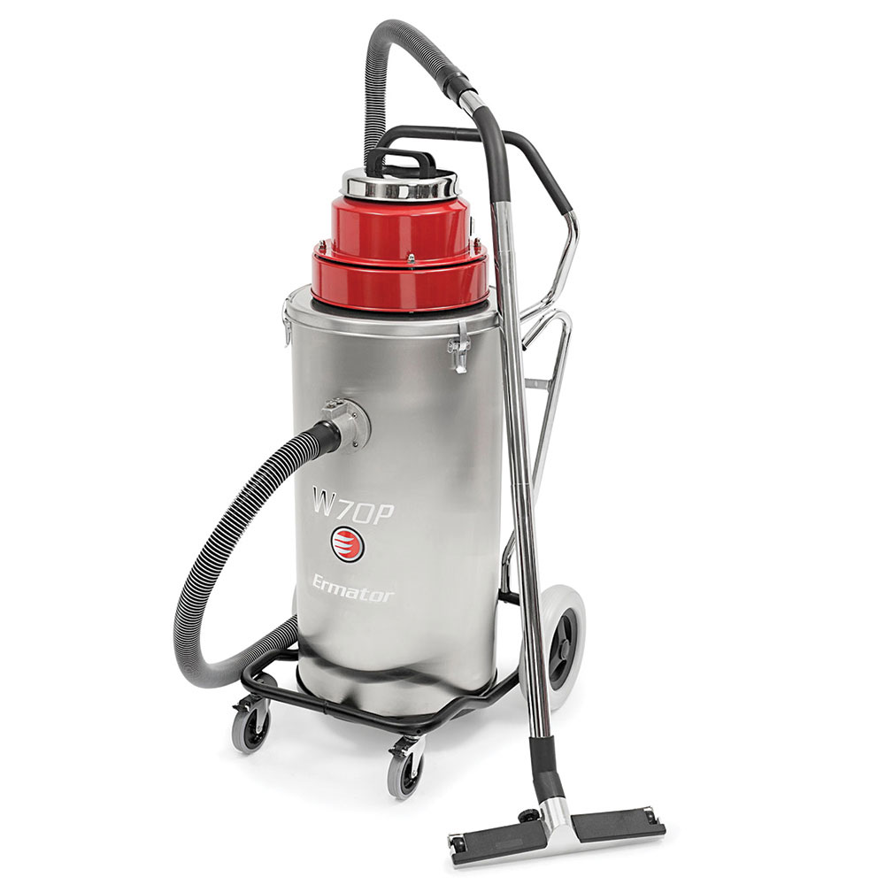 Ermator W70P Slurry Vacuum - Wet Area Floor Cleaners