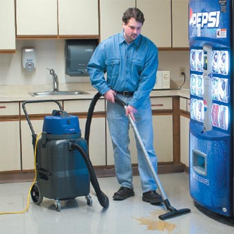 Kent Euroclean EWD-315 Wet/Dry Canister Vacuum Cleaner - 15 Gallon