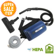 Kent Euroclean UZ 964-H Hip-Style Portable Back Pack Canister Vacuum Cleaner - HEPA Filter EUR-9052435020