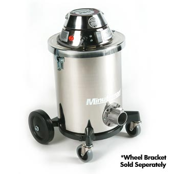 Minuteman [C80106-01] X-839 Series ULPA Critical Filter Dry Canister Vacuum - Stainless Steel Tank - 6 Gallon