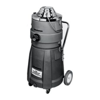 Minuteman [C83905-16] X-839 Series HEPA Critical Filter Wet/Dry Canister Vacuum - 15 Gallon