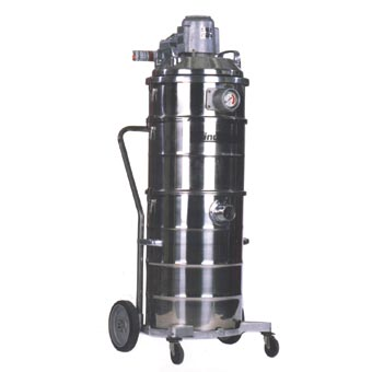 MinuteMan [C88015-04] Explosion Proof/Dust Ignition Proof ULPA Wet/Dry Canister Vacuum - 15 Gallon