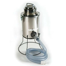 MRS-6 Maxi-Guard II Mercury Recovery Dry Critical Filter Tank Vacuum - 6 Gallon